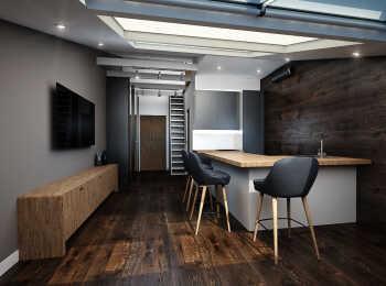 Пример интерьера в апартаментах